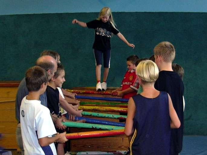 Erlebnispädagogische Aktionen